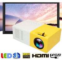 Mini Projector Portable Pico Full Color LED LCD Video HDMI USB AV Interfaces and Remote Control - $49 Free Shipping Worldwide