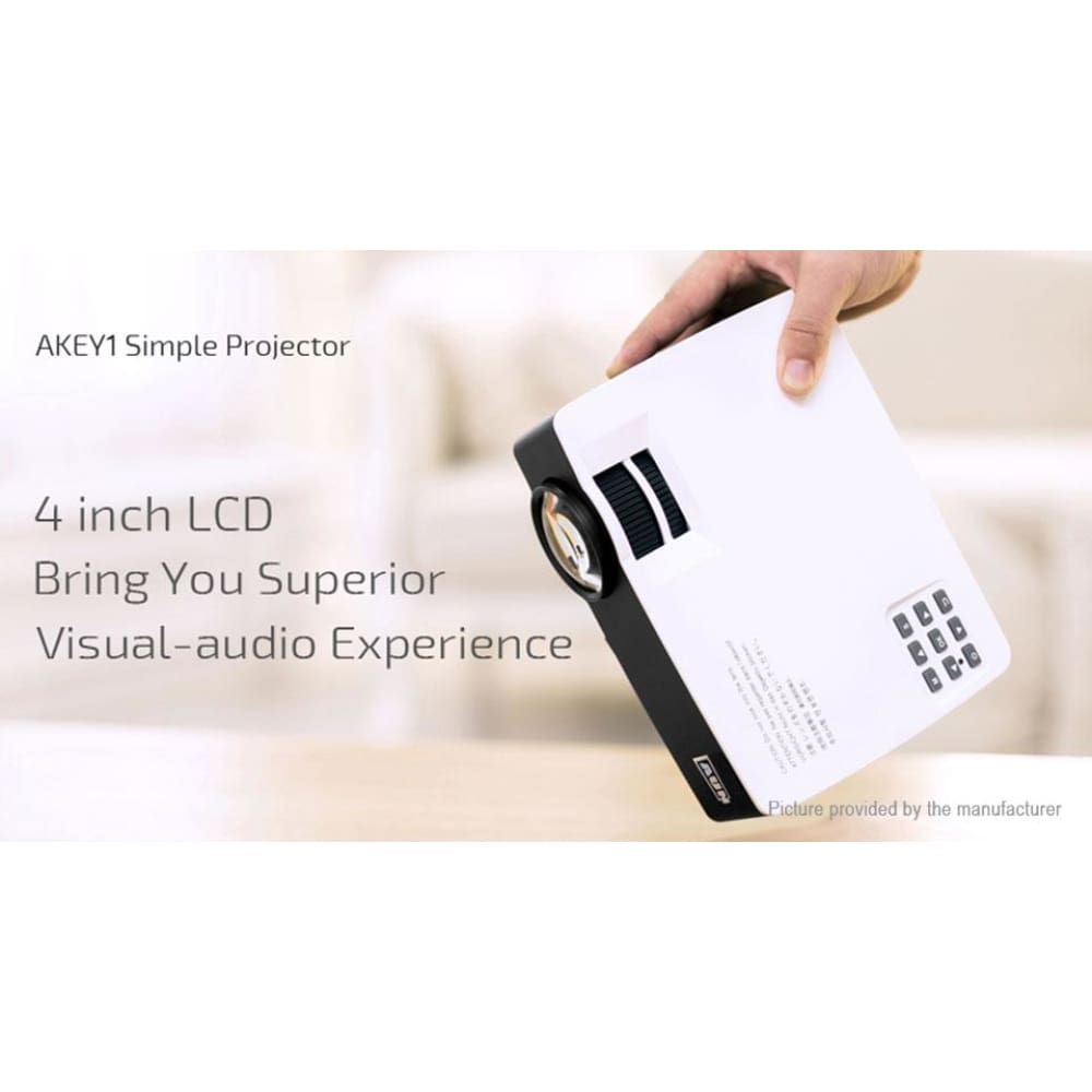 AUN AKEY1 Plus Wifi LED Projector Home Theater (EU) - Projectors