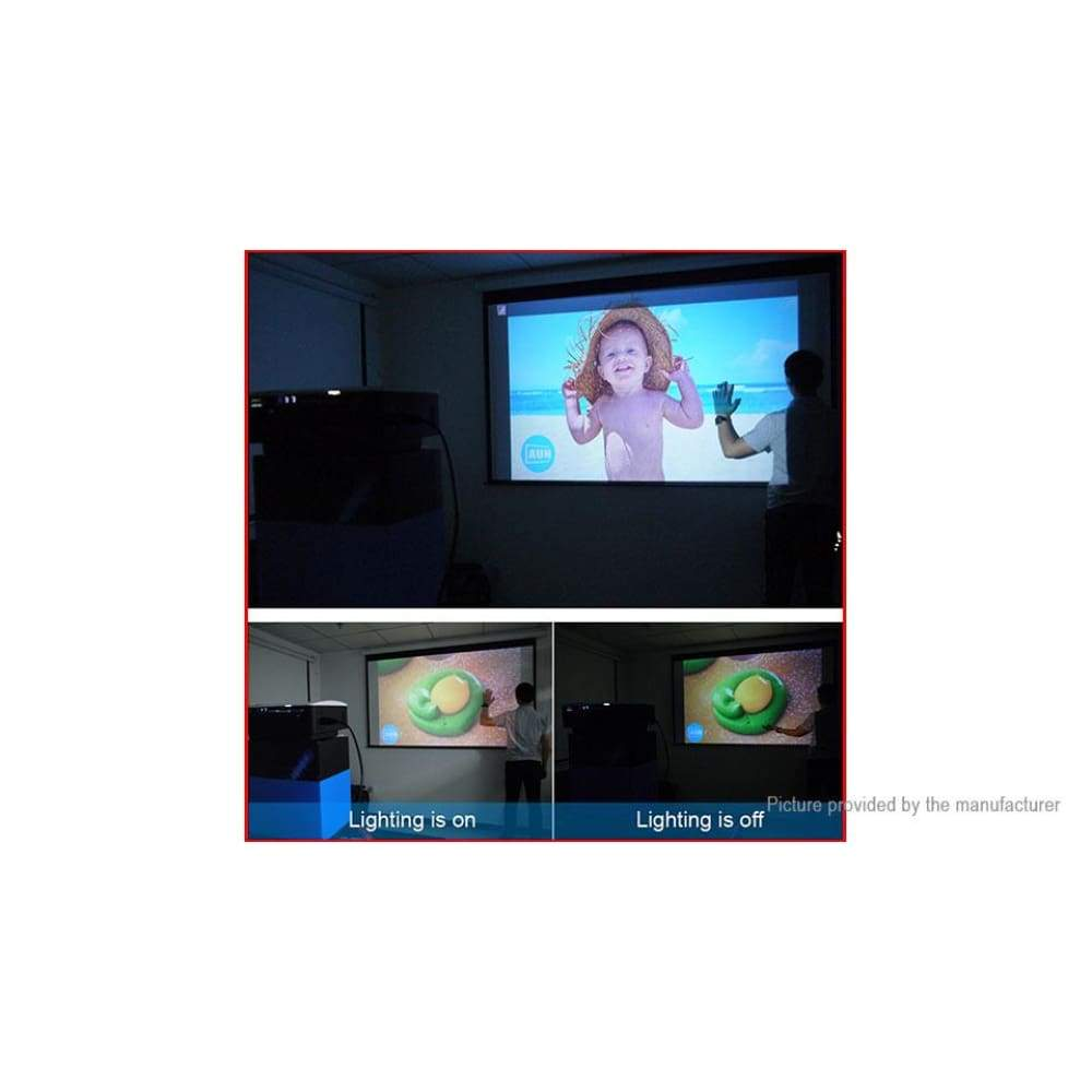 AUN AKEY1 Plus Wifi LED Projector Home Theater (US) - Projectors