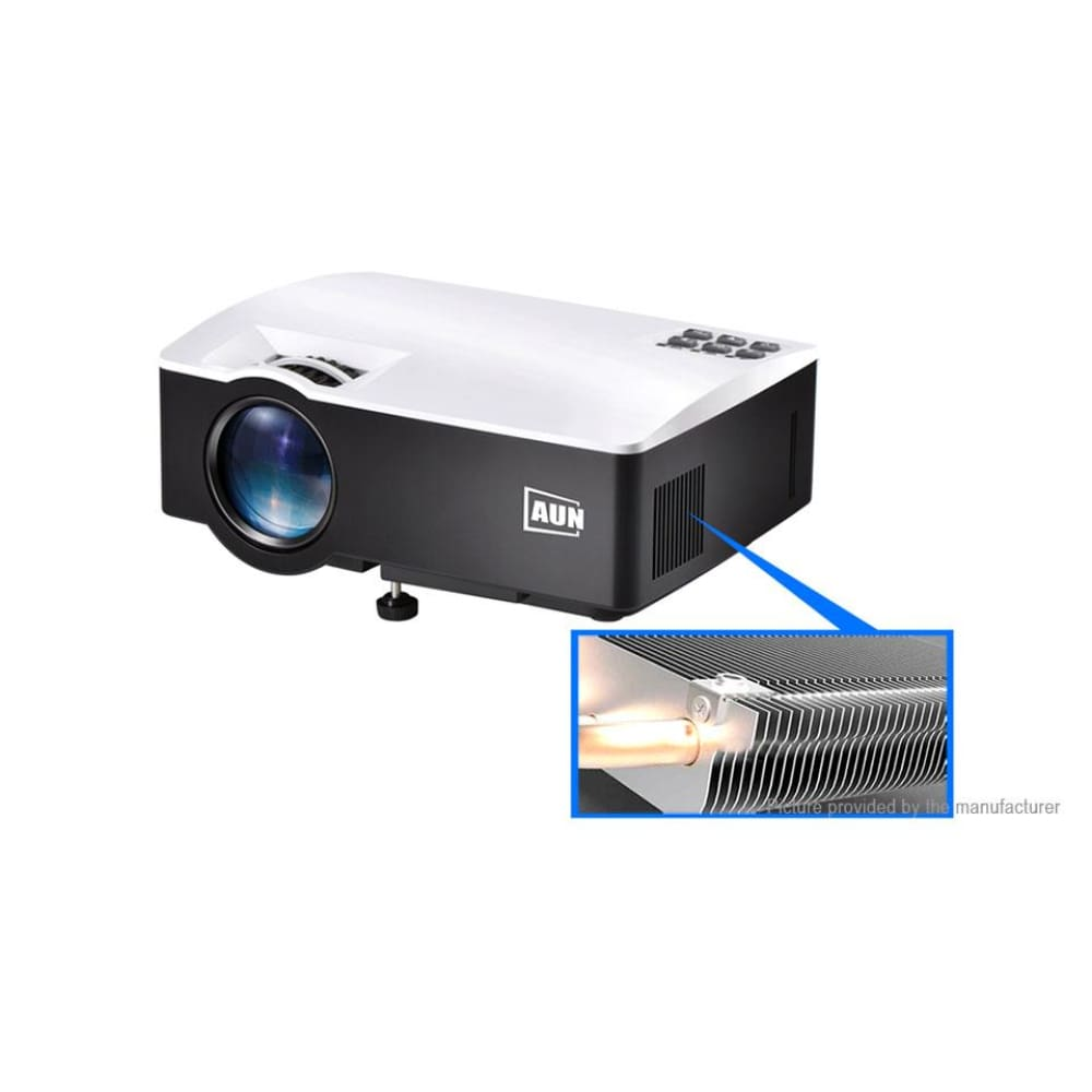 AUN AKEY1 Portable LED Projector Home Theater (US) - Projectors