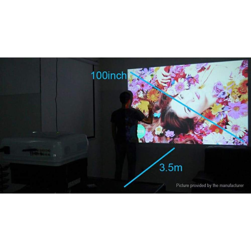 AUN AKEY2 Wifi LED Projector Home Theater (8GB/US) - Projectors