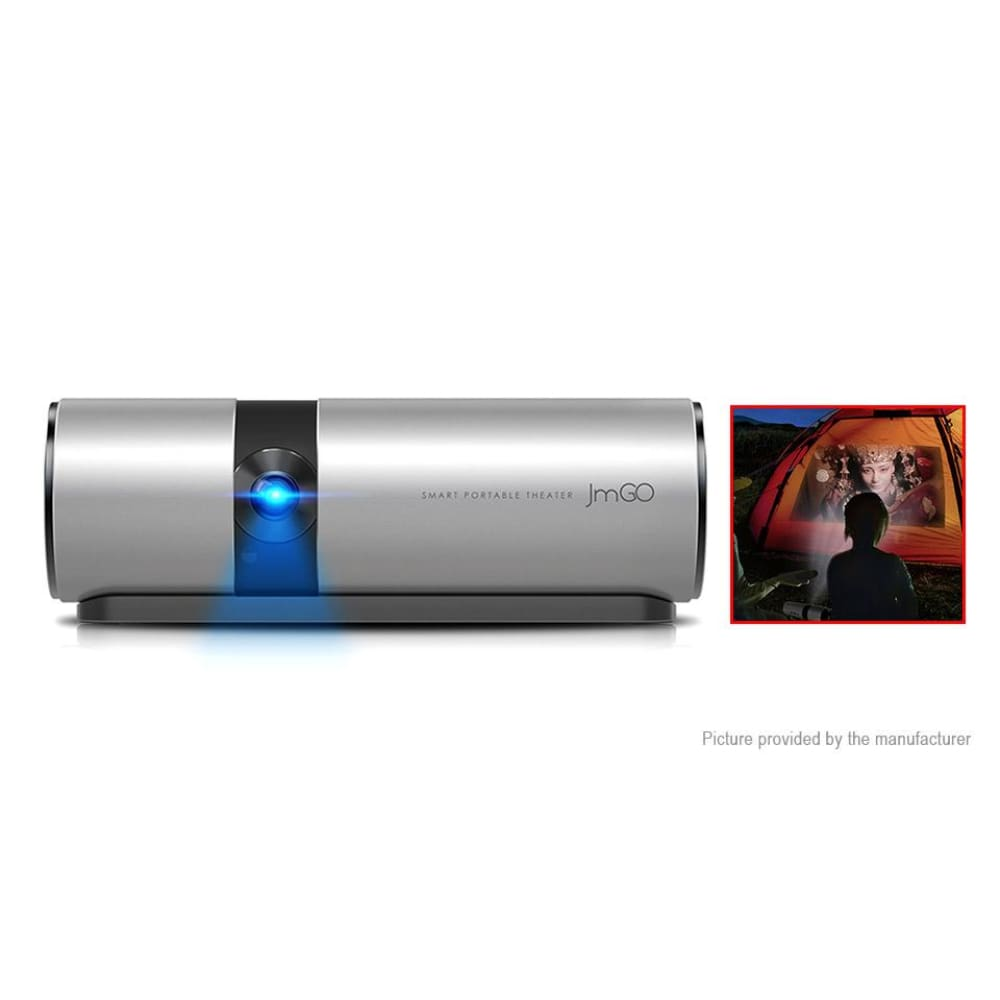 Authentic JMGO P2 1080p Portable LED Projector Home Theatre (8GB/US) - Projectors