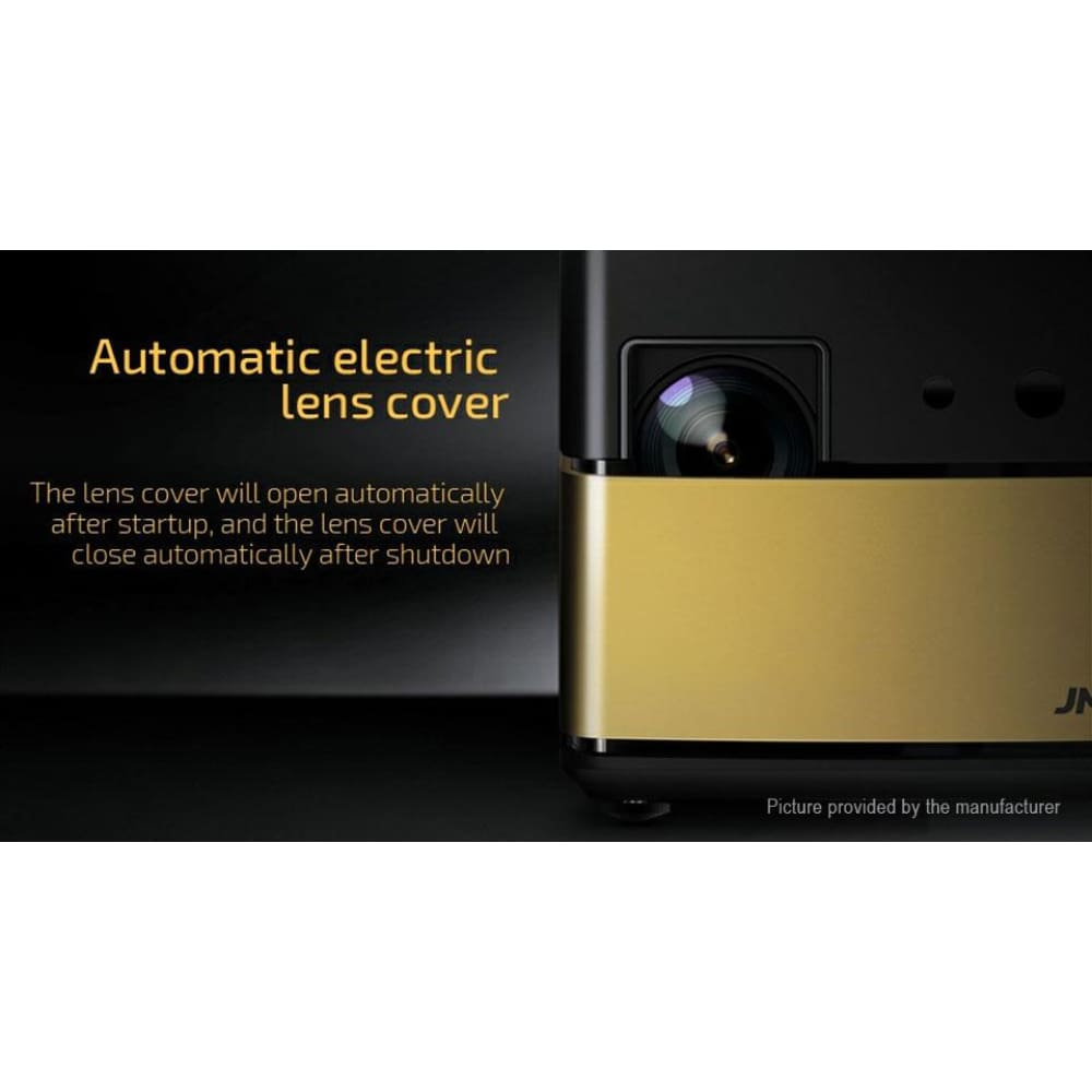 Authentic JMGO V8 1080p Projector 3D Home Theatre (EU) - M6 Gold EU (English Version) - Projectors