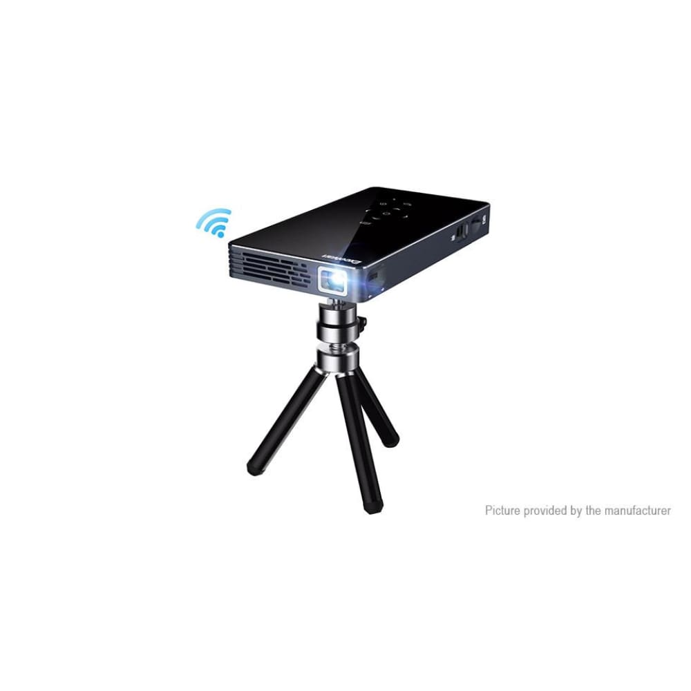 Excelvan T20 Portable Wifi DLP LED Projector Home Theater (US) - Projectors