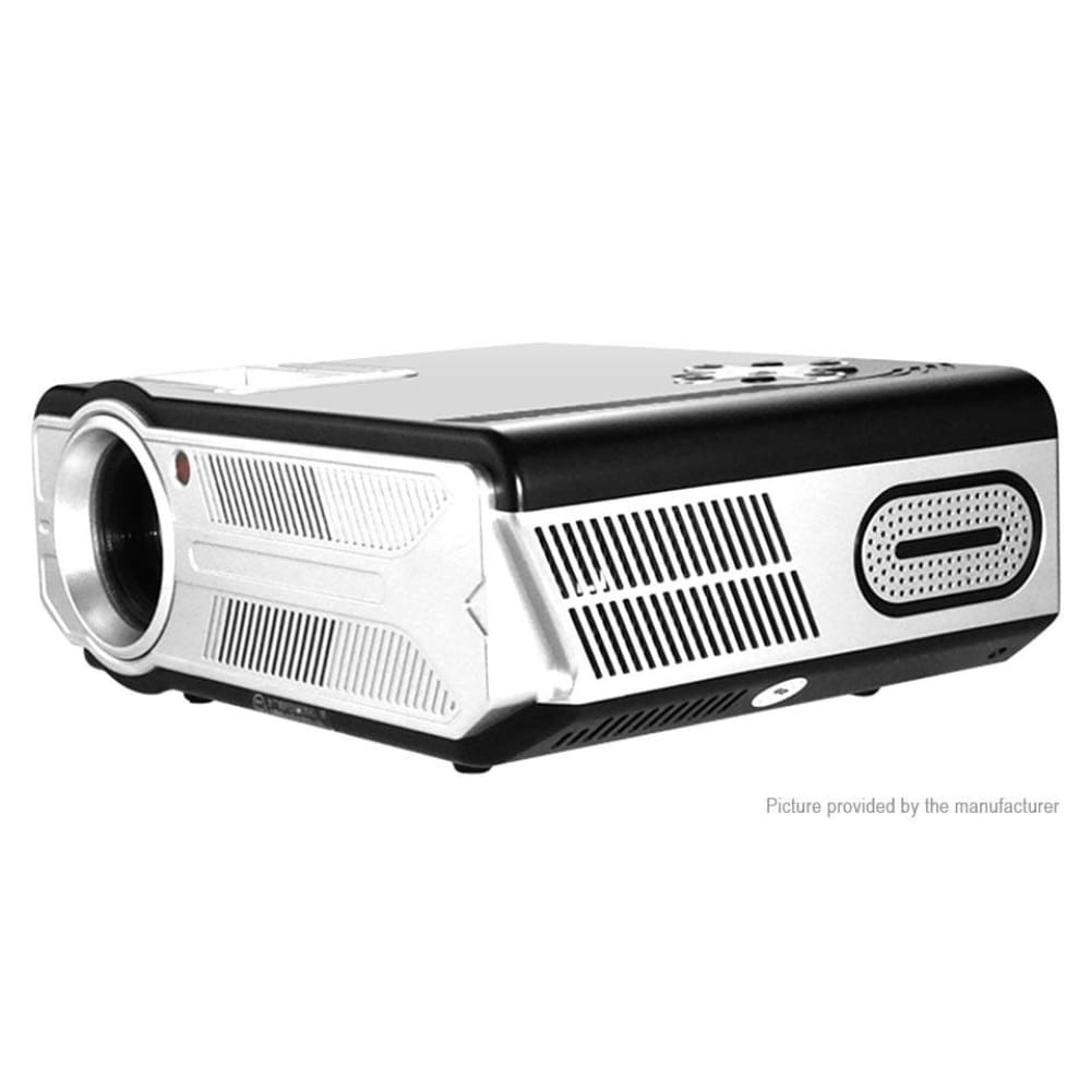 Owlenz SD200 5.8 LCD Mini 1080p LED Projector Home Theater (EU) - Black EU - Projectors
