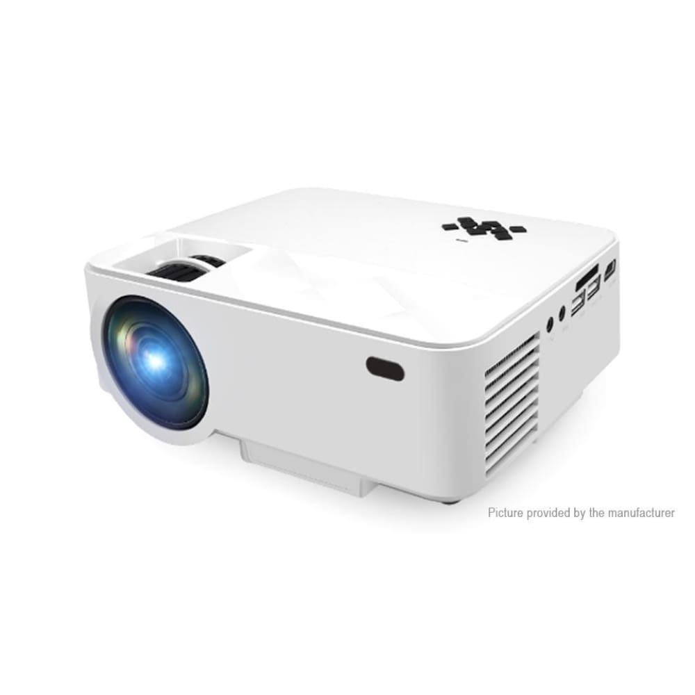 RUISHIDA T21B Portable LED Projector (8GB/US) - M3 Black + White EU - Projectors