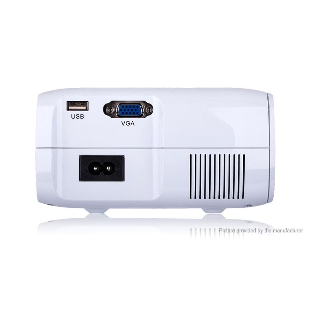 UHAPPY U80 PRO 1080p LED HD Mini Projector (8GB/US) - Projectors