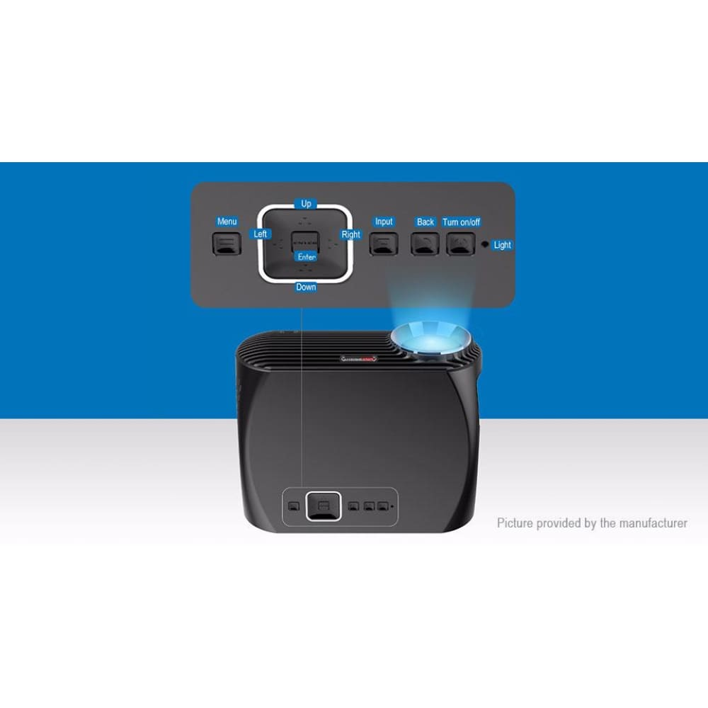 ViviBright GP100UP Smart LED Projector Home Theater (AU) - Projectors