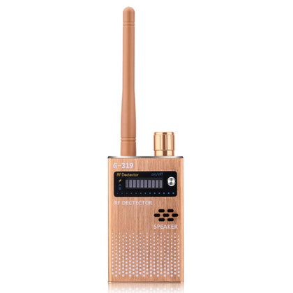 Gold US Wireless RF Signal Detector - Security & Surveillance