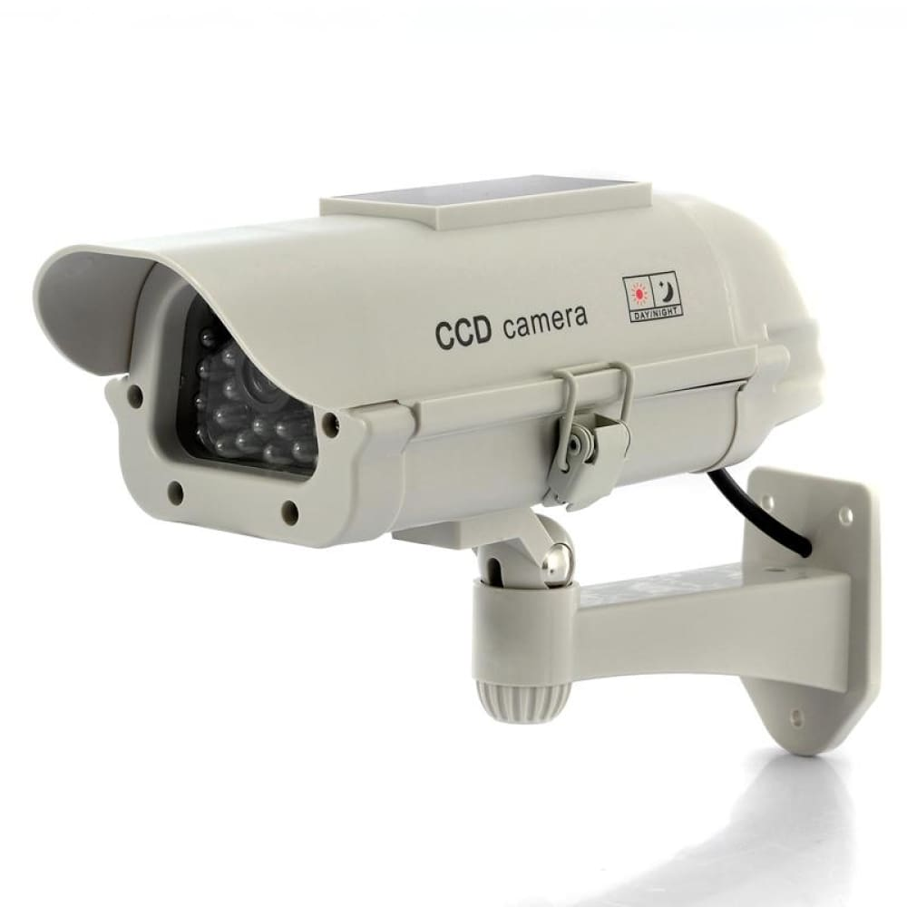 Solar Powered Dummy Camera - Security & Surveillance
