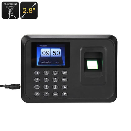 Time Attendance Fingerprint System - Security & Surveillance