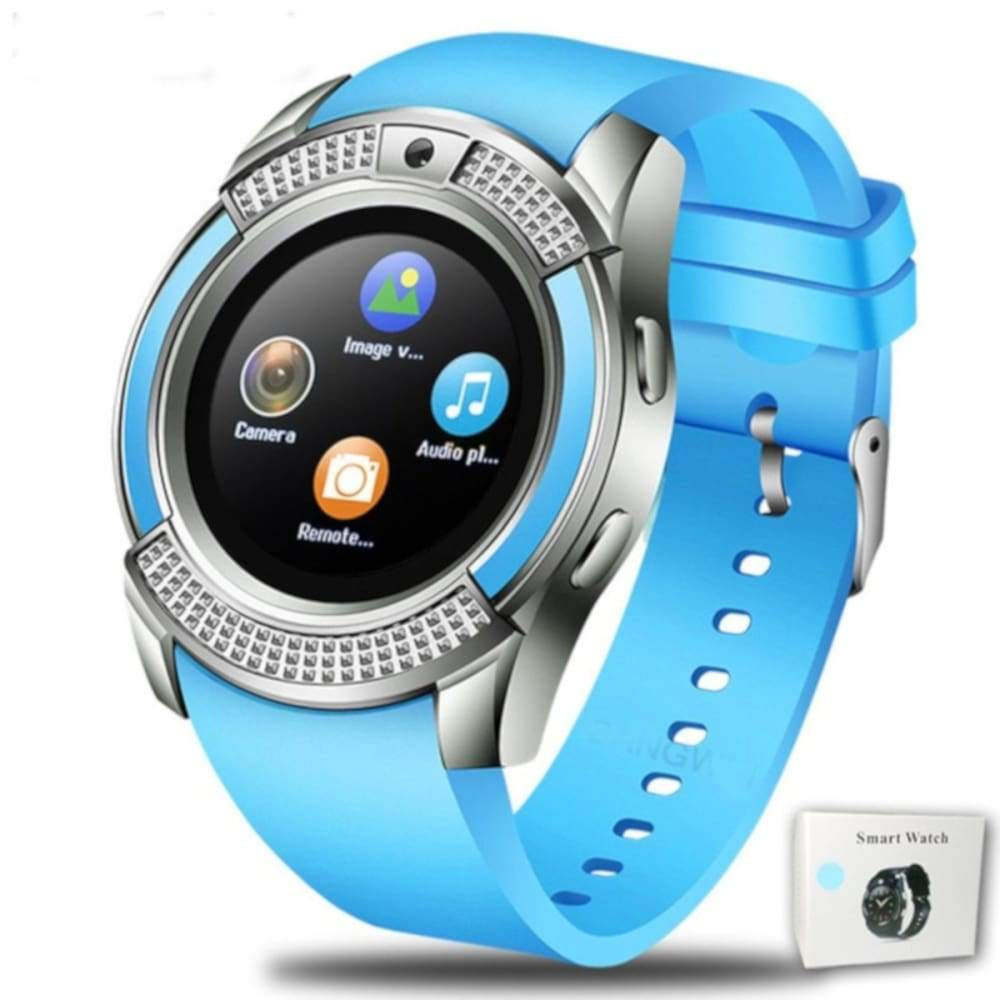 Men Women Smart Watch WristWatch Support With Camera Bluetooth SIM TF Card Smartwatch For Android Phone Couple