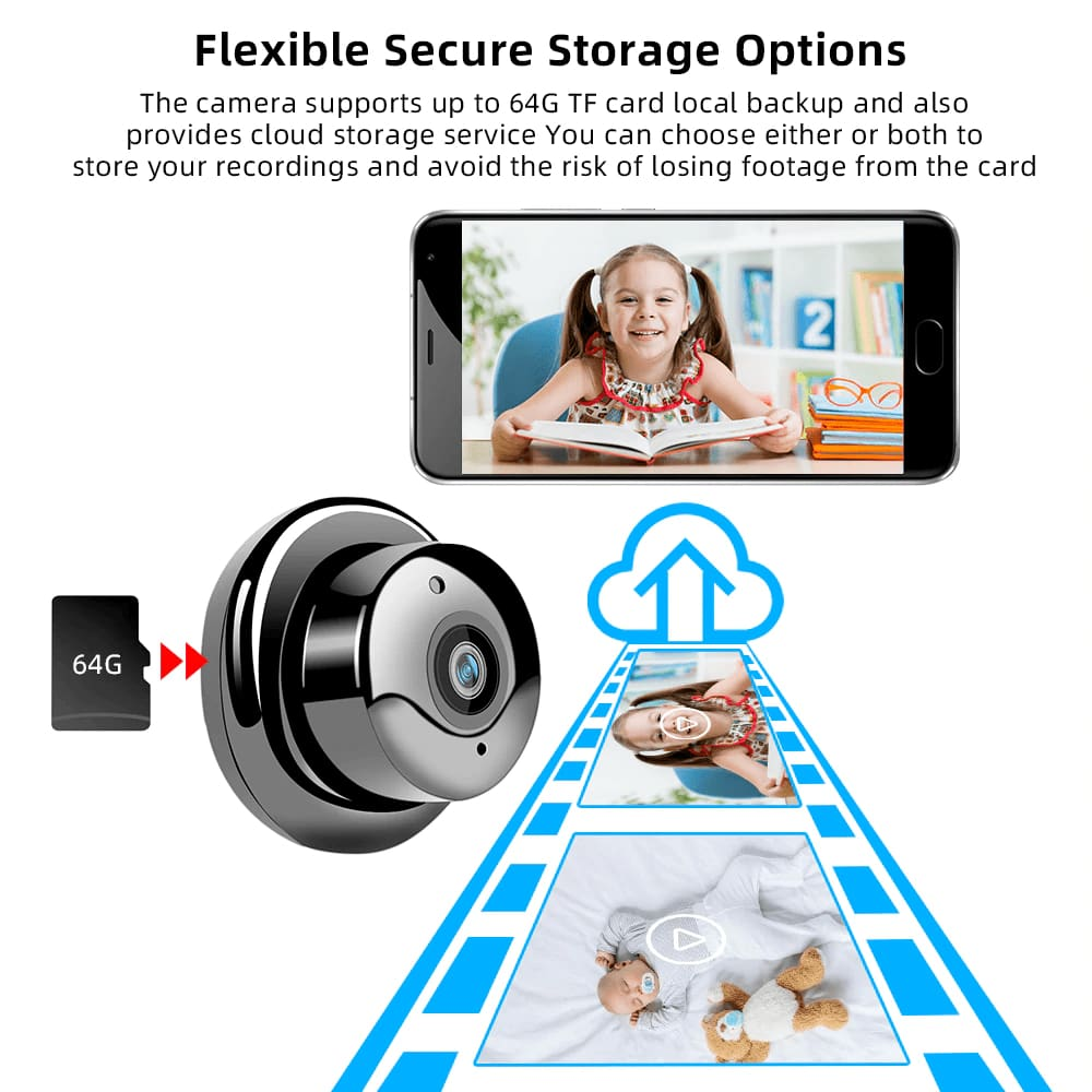 BEST PRICE WIFI CAMERA WITH SENSOR NIGHT VISION - Smartphone Accessories $29 Free Shipping Worldwide