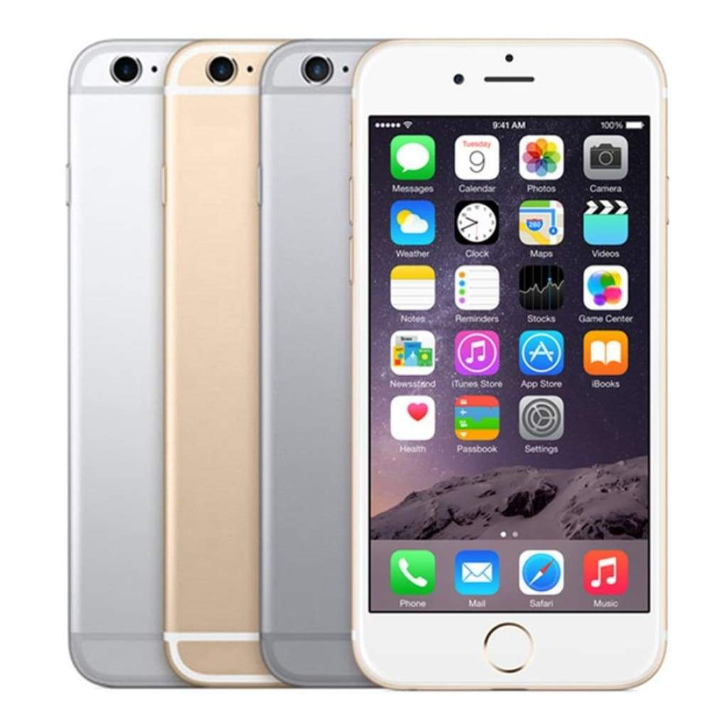 Apple iPhone 6S (32GB) - Space Gray - Silver - Gold 6s RAM 2GB 16GB ROM 64GB 128GB 4.7 iOS Dual Core 12.0MP Camera fingerprint 4G LTE