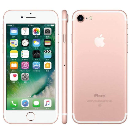 Apple iPhone 7 (32GB - 128GB) - Gold - Black - Silver - Rose LTE 32/128GB/256GB IOS 10 12.0MP 4G Camera Quad-Core Fingerprint 12MP 2910mA
