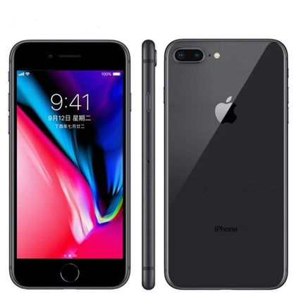 Apple iphone 8 Plus 3GB RAM 64-256GB ROM Hexa Core Unlocked iOS 5.5 inch 12MP Fingerprint 2691mAh LTE Mobile Phone - Smartphone