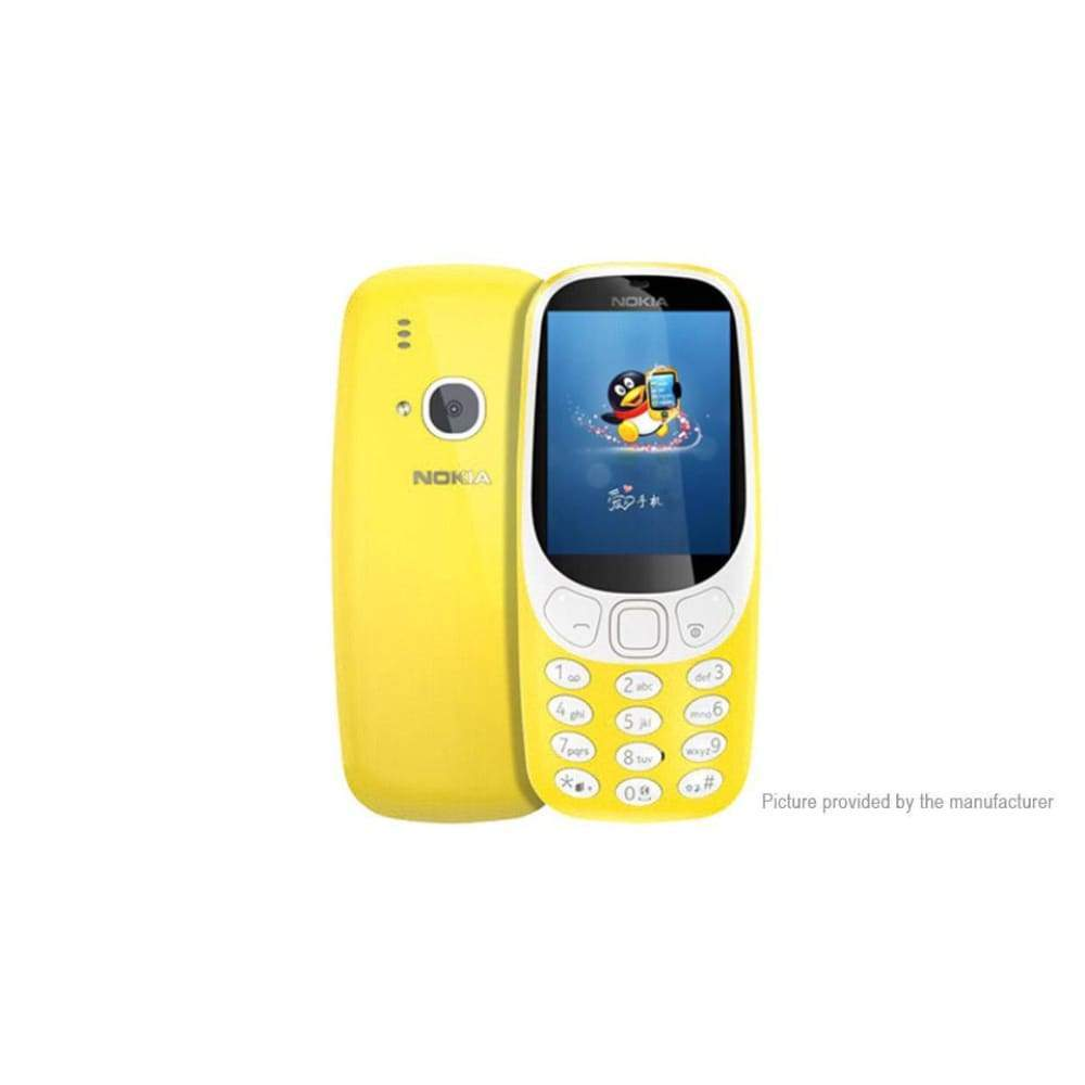 Authentic Nokia 3310 2.4 Dual-band GSM Feature Phone (US) - Smartphone
