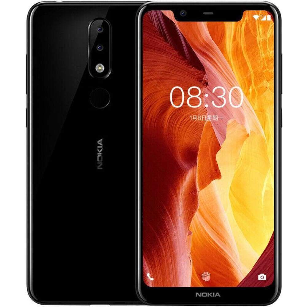 Authentic Nokia X5 5.86 HD Octa-Core Oreo LTE Smartphone (32GB/US)