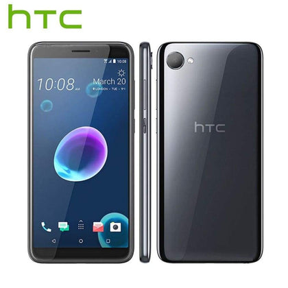 Brand New HTC Desire 12 LTE 4G Mobile Phone 5.5 3GB RAM 32GB ROM 13MP Camera Mediatek MT6739 Octa Core Android 8.0 Cell - Smartphone