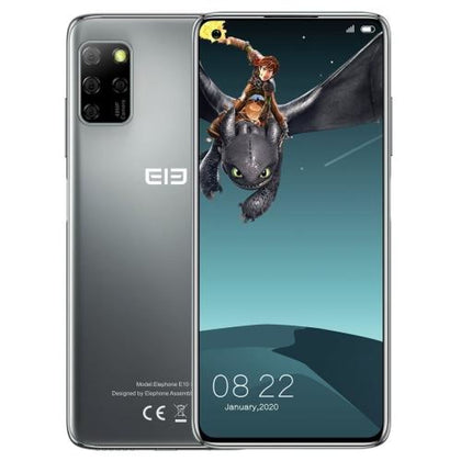ELEPHONE E10 Pro Blue Grey 48MP Camera 4GB+128GB Smartphone