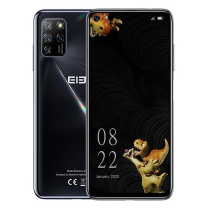 ELEPHONE U5 Black Blue 48MP Camera 4GB+128GB Smartphone