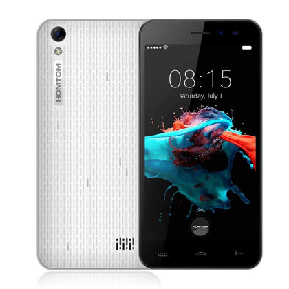 HOMTOM HT16 MTK6580 Android 6.0 Phone White - Smartphone