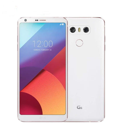 LG G6 RAM 4G ROM 32G Quad-core 13MP 5.7 Snapdragon 821 Single/Dual SIM LTE Mobile phone Android LGG6 - Smartphone