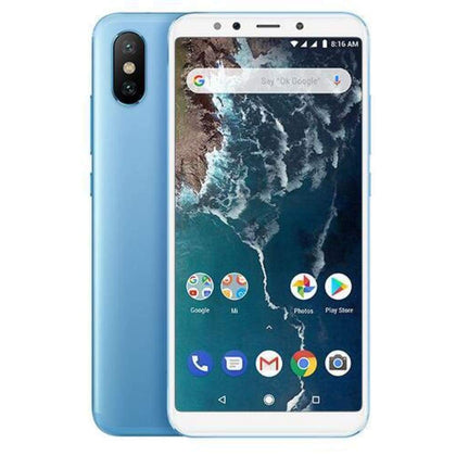 Mi A2 Snapdragon 660 Cellphone Blue - Smartphone