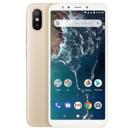 Mi A2 Snapdragon 660 Cellphone Gold - Smartphone