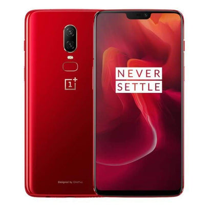 Oneplus 6 6.28 inch Smartphone - red - Android Phones