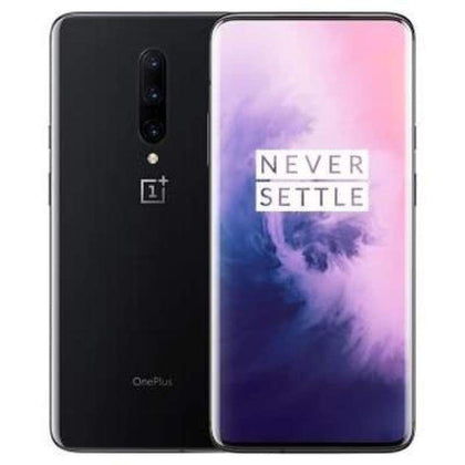 OnePlus 7 Plus Android 9.0 Mobile Phone 12GB 256GB Snapdragon 855 Octa core 6.41Inch 2340x1080p 19.5:9 Fullscreen 3700mAh NFC 48MP+5MP