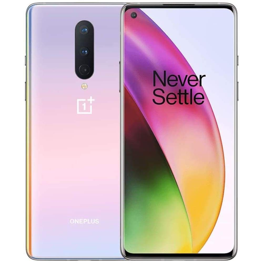 OnePlus 8 Glacial Green 5G Unlocked Android Smartphone U.S Version 8GB RAM+128GB Storage 90Hz Fluid Display,Triple Camera with Alexa