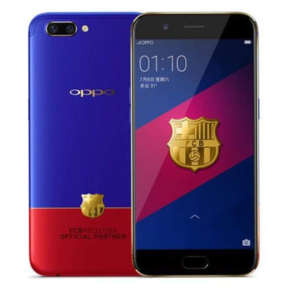 OPPO R11 Official FC Barcelona-4GB - 64GB - Blue and Red - Smartphone