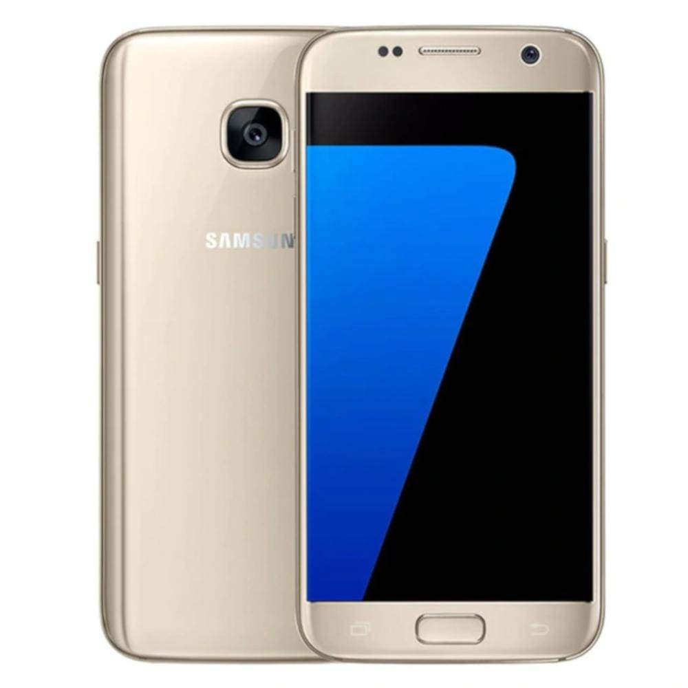 Samsung 32GB Galaxy S7 Cell Phone SM-G930V/P Octa 5.1\'\' 12MP 4G Factory Unlocked\ Smartphone US Plug - Gold / 32G