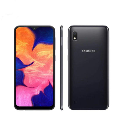 Samsung Galaxy A10 A105F-DS 4G LTE Mobile Phone 6.2 2GB RAM 32GB ROM Octa Core - Official Standard / Black - Smartphone