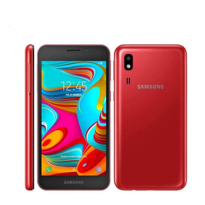 Samsung Galaxy A2 Core A260G-DS Mobile Phone 5.0 1GB RAM 8GB ROM Exynos 787 Octa - Official Standard / Red - Smartphone