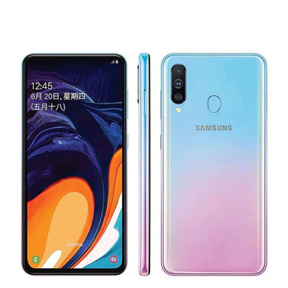 Samsung Galaxy A60 LTE Mobile Phone 6.3 6G RAM 64GB/128GB ROM Snapdragon 675 Octa Core - Smartphone