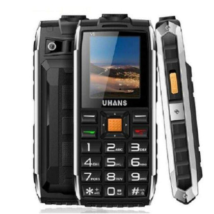 Shock and Dustproof Uhans V5 Mobile Phone Long Standby Big Speaker Outdoor - Smartphone