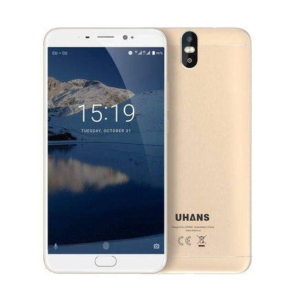 UHANS Max2 6.44 Inch Display Phone 4GB ROM 64GB 4G for Andro TY - Smartphone