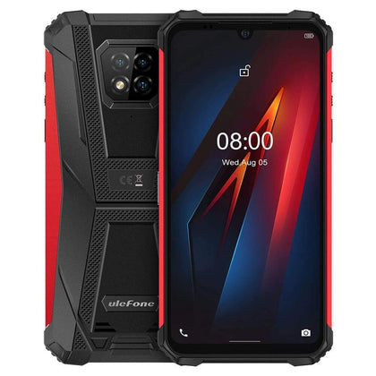 Ulefone Armor 8 4GB 64GB 16MP 5580mAh Helio Rugged Smartphone - Red