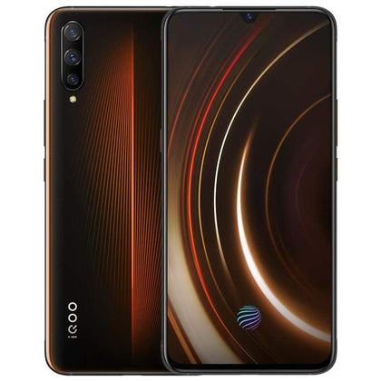 Vivo iQOO 6.41 Super AMOLED Mobile Phone NFC Snapdragon 855 Android9 4000mAh 44W SuperCharge Game Cellphone - Smartphone