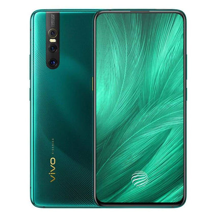 Vivo X27 Mobile Phone 8G RAM 128G ROM 48.0MP Elevating Camera IMX586 Sensor 4000mAh Battery Android 9.0 Smartphone - Green / SDM675