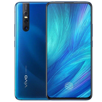 Vivo X27 Mobile Phone Snapdragon 710 8G RAM 256G ROM 48.0MP Elevating Camera 4000mAh Big Battery Full Screen Smartphone - Blue / SMD675 128G