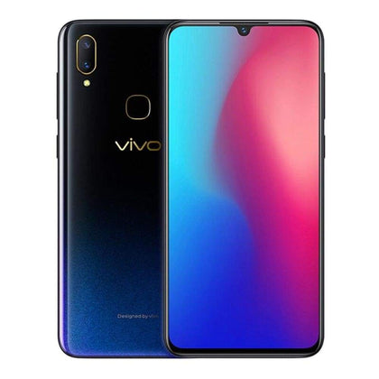 vivo Z3 Water Drop Screen 4GB/6GB+64GB/128GB Snapdragon670/710 dual camera LTE Android 8.1 6.3 FHD FingerPrint ID Smart phone - Black / 4G