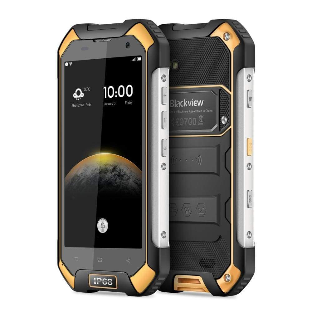 Gul Blackview BV6000 IP68 Smart Phone - Smartphone