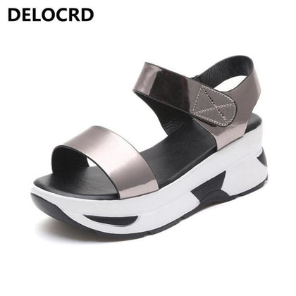 Womens Sandals Wild Tide Casual Shoes Summer Beach Flat - Sneakers