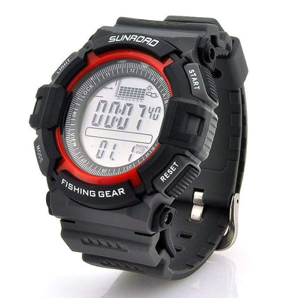 Digital Fishing Barometer Watch - Sports & Outdoors