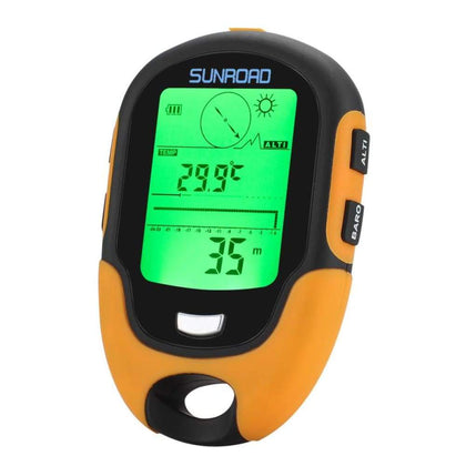 Sunroad FR500 Multifunction Outdoor Altimeter - Sports & Outdoors
