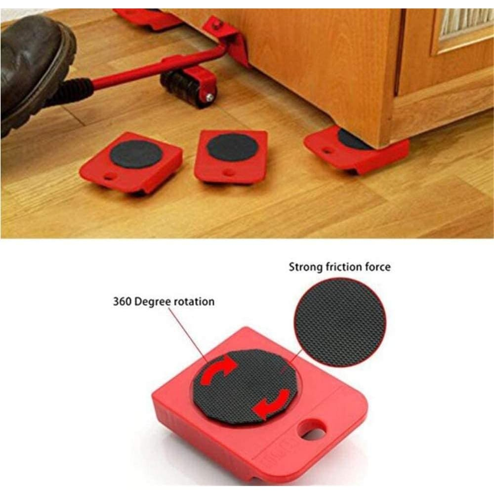 Furniture Lifter Easy Moving Sliders 5 Packs Mover Tool - Tools and Equipment $35.99 Free Shipping Worldwide