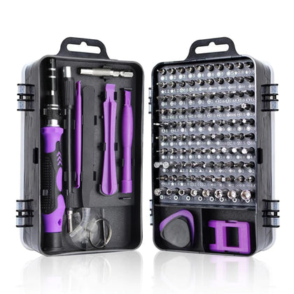 Professional Precision Screwdriver Set Magnetic - 117 in 1 Screw driver Tools Sets PC Repair Tool Kit for Mobile